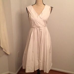 Papillon white dress size medium